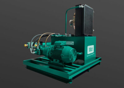 Hydraulic driven test group
